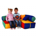 Childrens Soft Seating Corner,soft play seating area,school softplay,special needs soft play seating